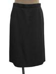 シャネル/ウール セミタイトスカート