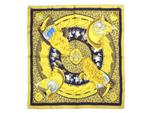 エルメス/カレ90 スカーフ 【CASQUES et PLUMETS(兜と羽根飾り)】