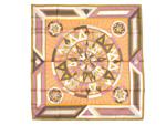 エルメス/カレ90 スカーフ 【La Rose Des Vents (コンパスローズ)】