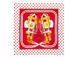 エルメス/カレ90 スカーフ 【Brides de Gala Love (ブリッド・ドゥ・ガラ・ラヴ)】【SALE】