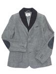 アルマーニ ジュニア/レイヤード風ニットジャケット