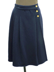 ソニアリキエル/ボタン付き ラップセミタイトスカート