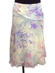 ポール&ジョー/花柄シルクシフォンスカート